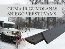 Guma ir gumolanas sniego verstuvams