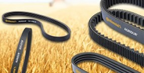 Belts for agriculture machinery