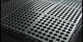 Rubber mats for wet areas