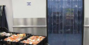 PVC strips for refrigerated display cabinets and freezers