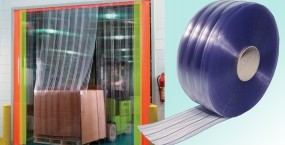 PVC strips for warehouses and manufacturing premises