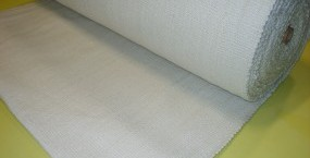 Ceramic fibre fabric