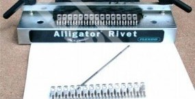 Alligator Rivet - Tool for nailing connections of roller presses