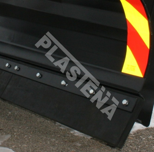 Rubber for snow plow blades, snow plow deflector rubber,  abrasion-resistant rubber - Plastena.lt