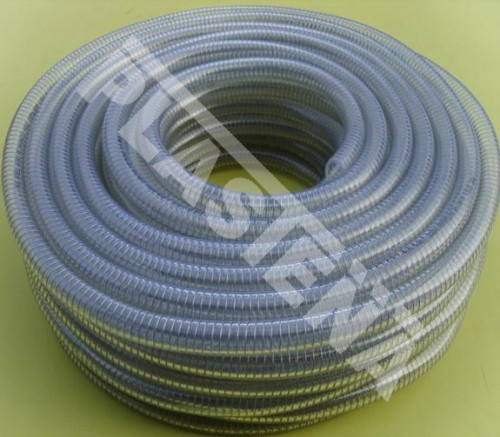 Plastena.lt - PVC hoses, pvc hose with steel wire, transparent hoses, hoses for granural media, flexible hose, suction hose, delivery hose, technical hoses