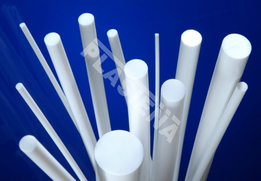 Polytetrafluoroethylene (PTFE) sheets, rods, tubes chemically produced material that features chemical resistance to mineral and organic acids, alkalis, organic solvents, oxidising agents, and other aggressive media