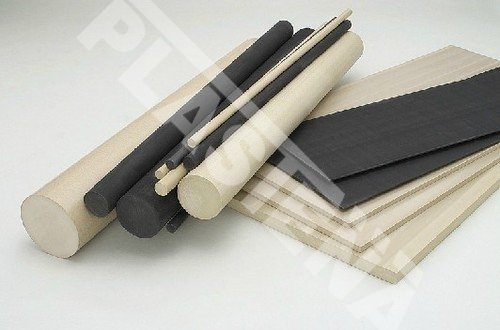 Polyphenylene sulphide (PPS) sheets, rods – it is engineering plastic retaining very good interbalanced mechanical, thermal, and chemical characteristics.