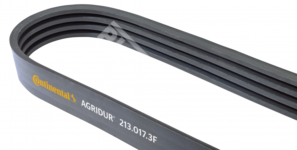 Banded v-belt for agriculture machinery AGRIDUR