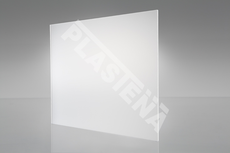 Perspex® Satin -  acrylic glass with the added feature of a smooth subtle matt finish on one side of the sheet.