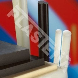 Polyamide (PA) - rigid plastic, resistant to high loads, features good mechanical characteristics. Low friction coefficient, resistant to lubricants, salts, alkalis, and lamp oil.