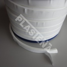 PTFE sealing tape application: sealing of flange joints, often instead of an usual flat gasket. Particularly used for large diameter flanges when cutting flat gasket is quite difficult.