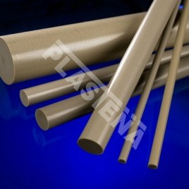 Polyetheretherketone (PEEK) sheets and rods