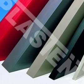 Polyvinyl chloride (PVC) sheets and rods