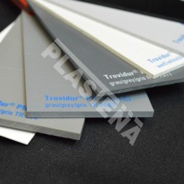 Polyvinyl chloride (PVC) features good adhesive characteristics (it glues well), it is easy to bend after heating, form by heat treatment.