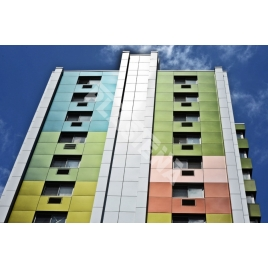 Aluminium composite panels for decoration of buildings interior and exterior. Very popular amongst construction and architecture companies and are also widely used in advertising production.