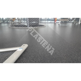 Rubber flooring is perfect for any weight room flooring or equipment room flooring need, and is also a great choice for gymnaiums, yoga or pilates studios, children´s play areas, common areas, and much more.