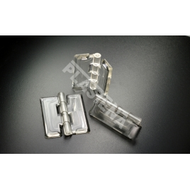 Accesories Hinge from acrylic glass (PMMA)